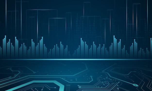 Giełda 2021, wykres gospodarczy z diagramami, koncepcjami biznesowymi i finansowymi oraz raportami, abstrakcyjne tło koncepcji komunikacji technologii