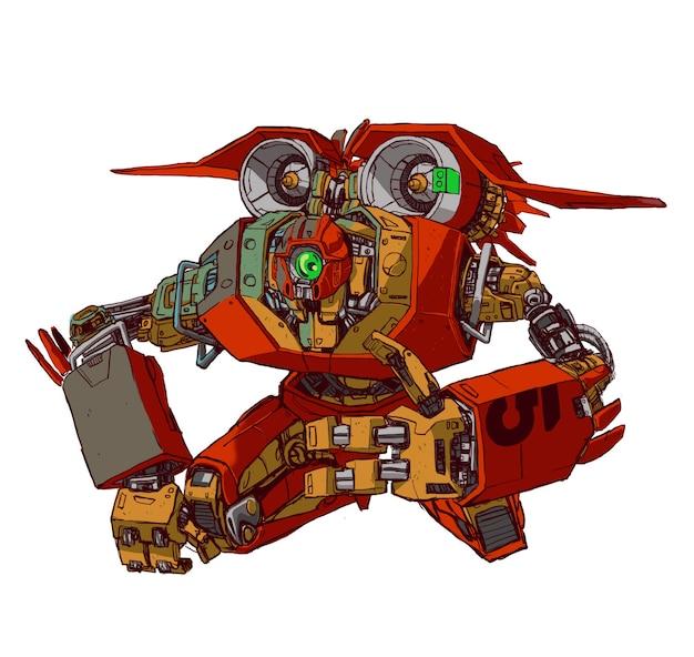 Gigantyczny robot