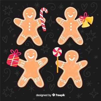 Gingerbread man z pakietem akcesoriów