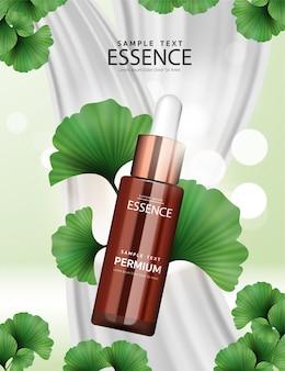 Ginkgo kosmetyczne reklamy