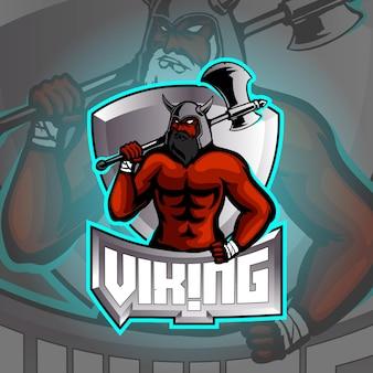 Gladiator logo esport ilustracja
