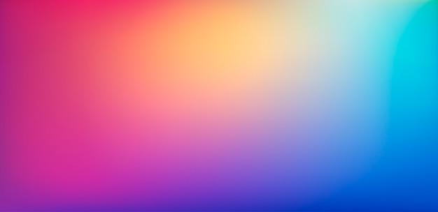 Gładka siatka rozmazane tło. wielokolorowy wzór gradientu. gładkie nowoczesne tło w stylu przypominającym akwarele.
