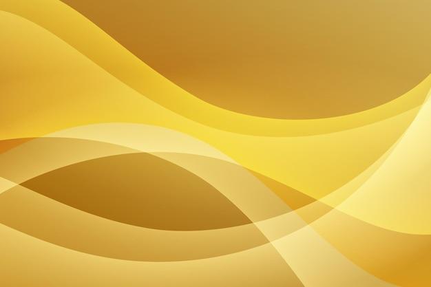 Gładka tapeta złotej fali