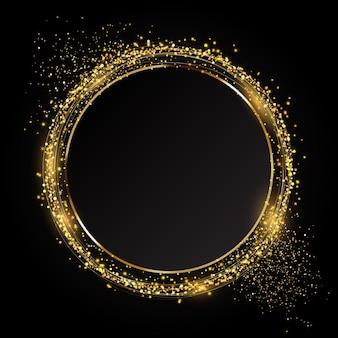 Glittery koło tło idealne na uroczyste uroczystości
