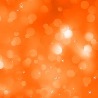 Glittery pomarańczowe tło boże narodzenie.