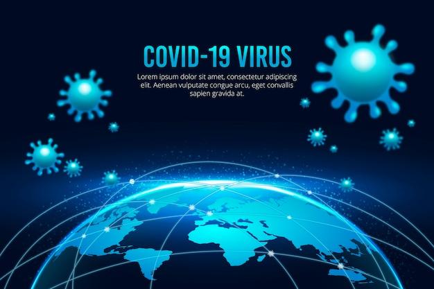 Glob koronawirusa jest poddany kwarantannie