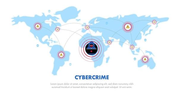 Globalne bezpieczeństwo danych, bezpieczeństwo danych osobowych, ilustracja koncepcji bezpieczeństwa danych online, bezpieczeństwo w internecie lub prywatność i ochrona informacji.