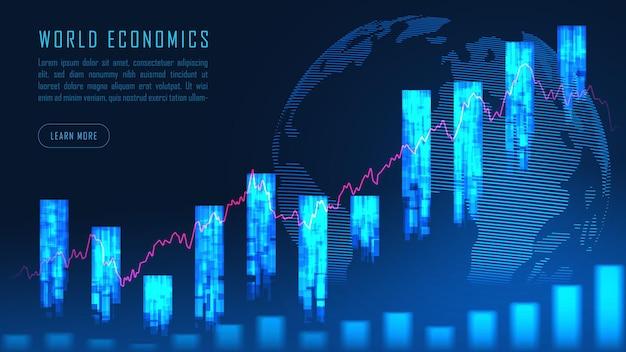 Globalne finanse w koncepcji graficznej