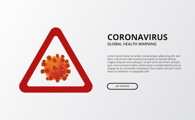 Globalne ostrzeżenie o zdrowiu koronawirusa