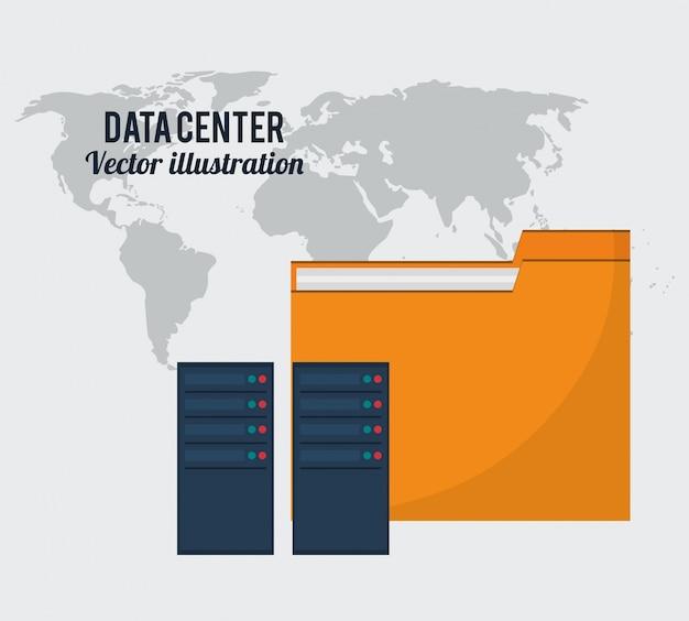 Globalne przechowywanie plików w folderze plików centrum danych