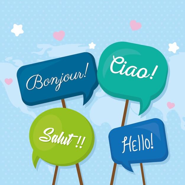 Globalne słowa powitania