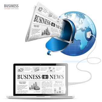 Globalny biznes koncepcja