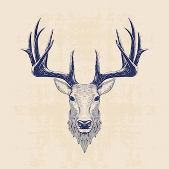 Głowa jelenia