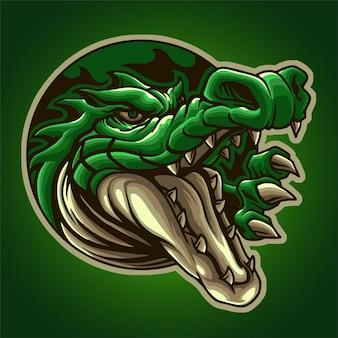 Głowa krokodyla