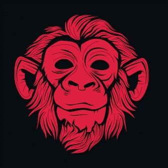 Głowa małpy