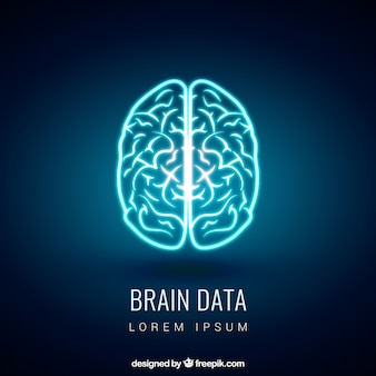 Glowing mózg