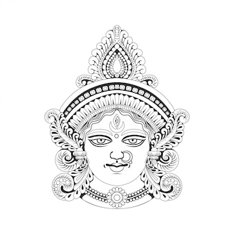 Godess maa durga india