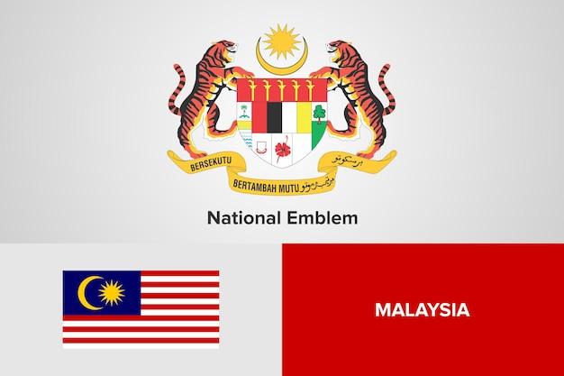 Godło i flaga szablon
