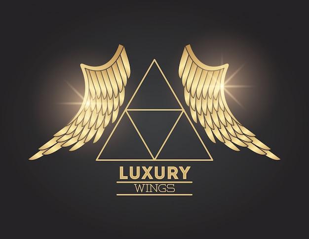 Godło luksusowych skrzydeł