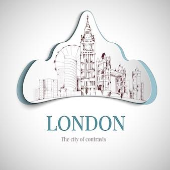 Godło miasta londyn