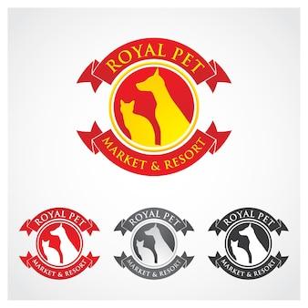 Godło odznaka królewski symbol emblemat