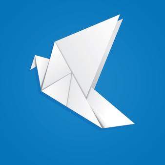 Gołąb origami