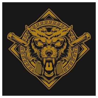 Golden wolf zły gangster