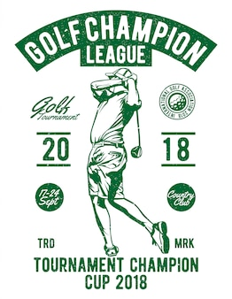 Golf champion league