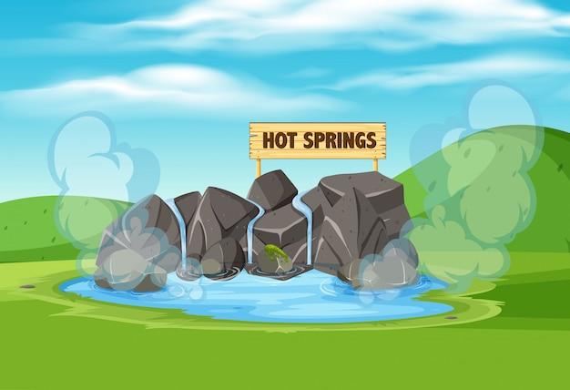 Gorące źródła w przyrodzie