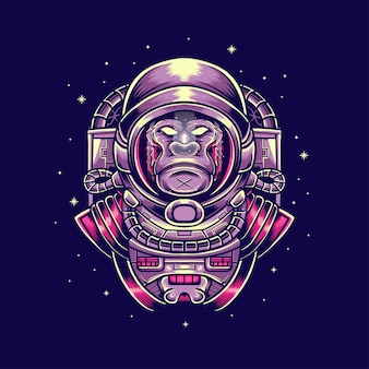 Goryl astronout