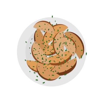 Gotowane ziemniaki święto dziękczynienia tradycyjne potrawy pieczone ziemniaki z przyprawami i przyprawami