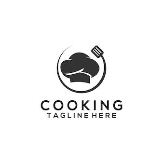 Gotowanie logo szablon wektor. gotowanie logo dla biznesu