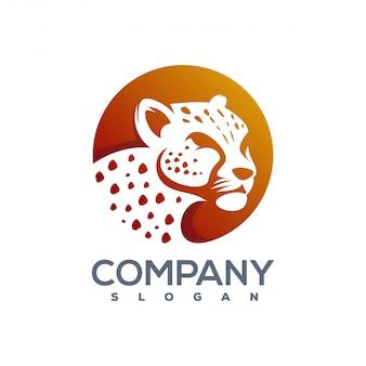 Gotowe do użycia logo cheetah