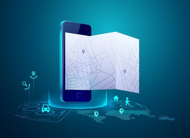 Gps w telefonie komórkowym