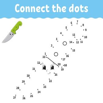Gra kropka-kropka narysuj linię