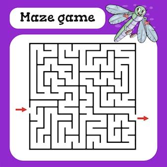 Gra labirynt dla dzieci