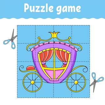 Gra logiczna dla dzieci arkusz rozwijający edukację