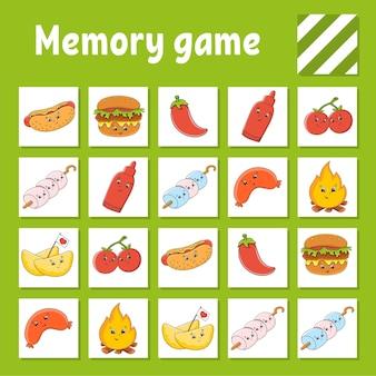 Gra pamięciowa dla dzieci