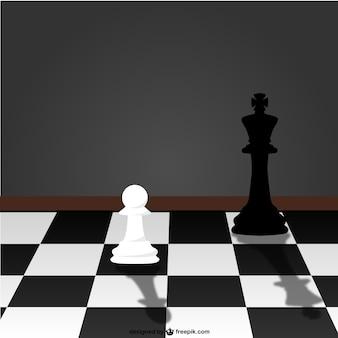 Gra w szachy wektor