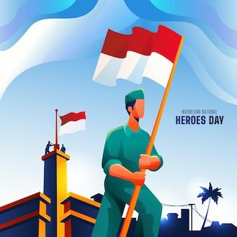 Gradient pahlawan / dzień bohaterów