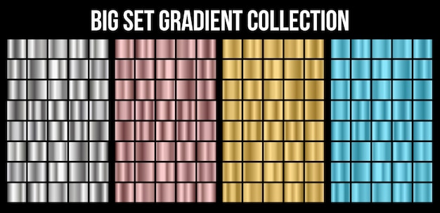 Gradientowa kolekcja tekstura
