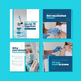 Gradientowa szczepionka na instagramie