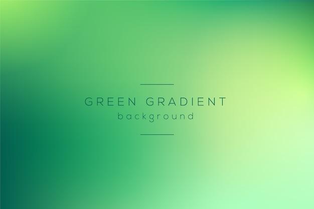 Gradientowa tapeta w odcieniach zieleni