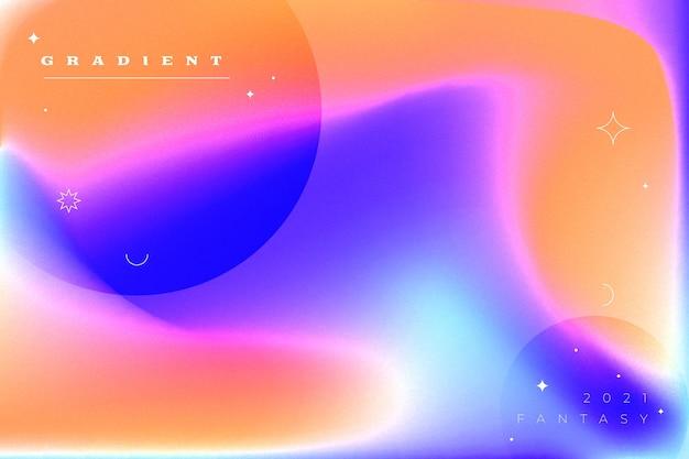 Gradientowe abstrakcyjne dynamiczne tło