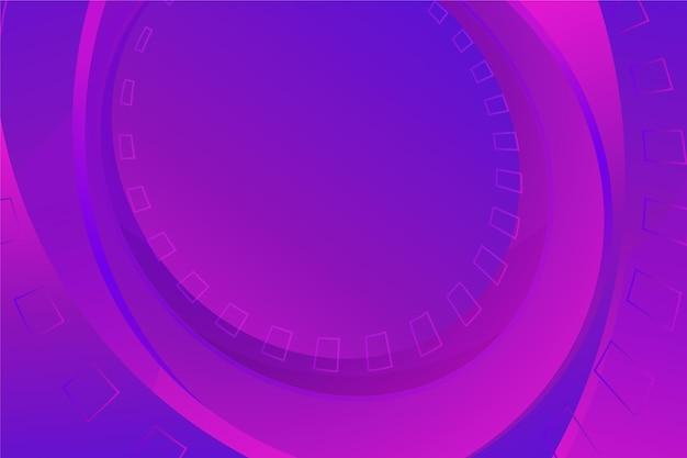 Gradientowe abstrakcyjne fioletowe tło