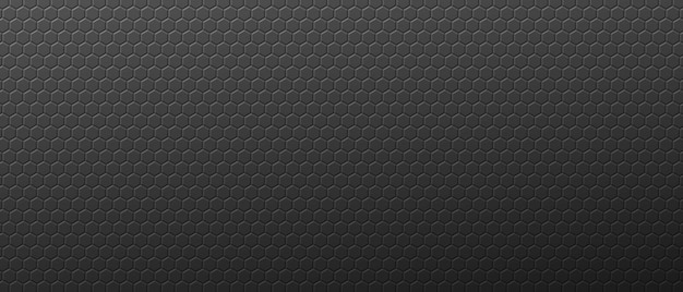 Gradientowe abstrakcyjne sześciokąty tło orzecha szare geometryczne koła zębate z ornamentem techno