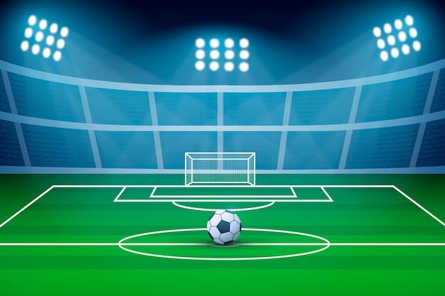 Gradientowe Abstrakcyjne Tło Piłki Nożnej Darmowych Wektorów