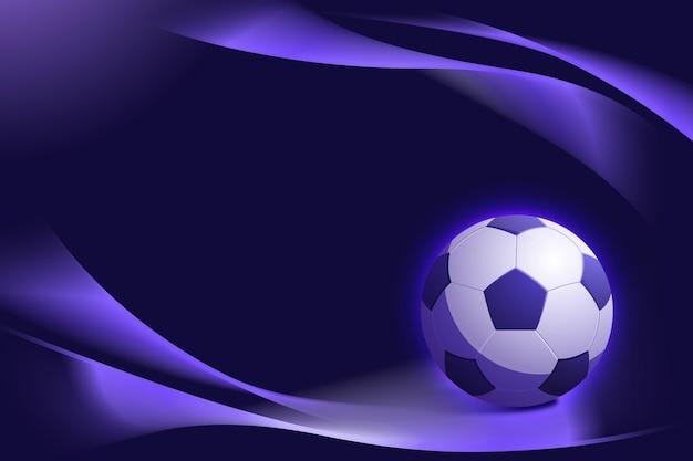 Gradientowe abstrakcyjne tło piłki nożnej