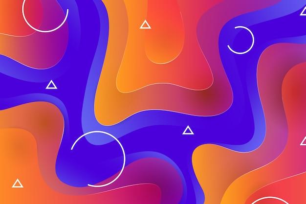 Gradientowe abstrakcyjne tło