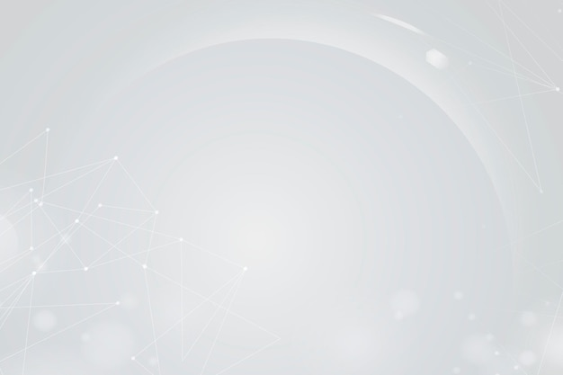 Gradientowe białe tło bokeh